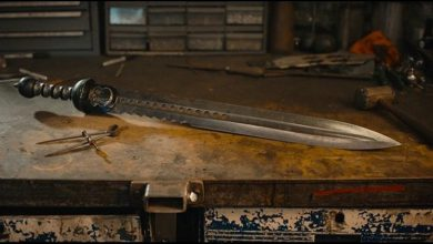 Photo of Beautiful 8K Video Of Master Blacksmith Forging a Damascus Steel Roman Sword (Video)