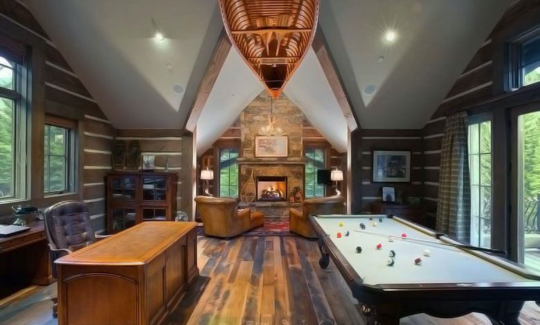 Photo of You Know You Want One Of These Billiard Man Caves (28 Photos)