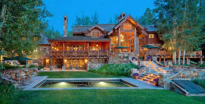 Photo of Dream House: Aspen Rustic Log Lodge (37 Photos)