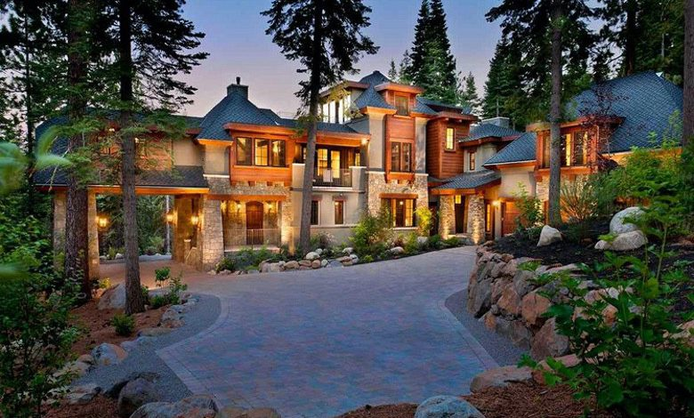 Photo of Dream House: California Mountain Mansion (12 Photos)