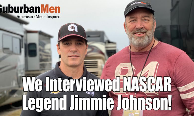 Photo of Exclusive Interview with NASCAR Driver Jimmie Johnson at Talladega