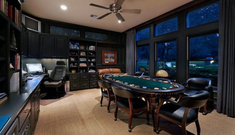 Photo of A Poker Table Will Turn Your Man Cave into a MAN Cave (28 Photos)