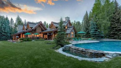 Photo of Dream House: Idaho Riverfront Log Home (26 Photos)