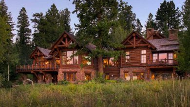 Photo of Dream House: Spectacular Colorado Mountain Log Home (24 Photos)