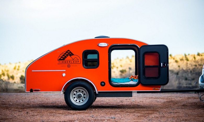 Photo of The Timberleaf Teardrop Trailer Let's You Get Away in Style (11 Photos)