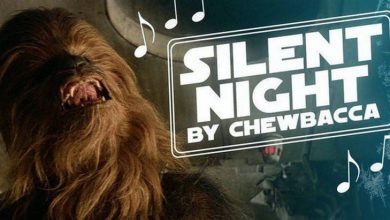 Photo of Chewbacca Sings Silent Night in New Holiday Classic (Video)