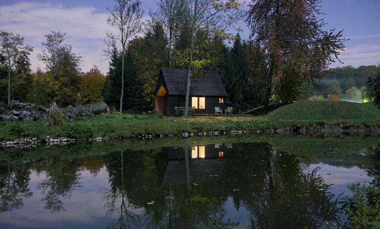 Photo of Architect Designs and Builds a Cabin Getaway for His Father (9 Photos)
