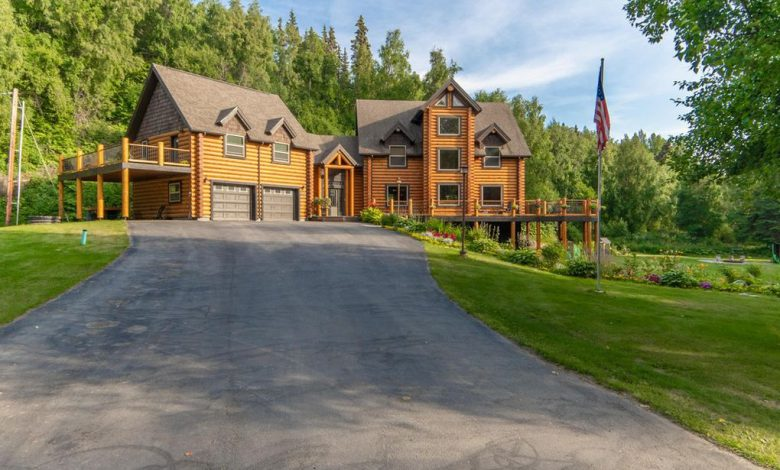 Photo of Dream House: Alaskan Luxury Log Cabin (22 Photos)