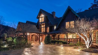 Photo of Dream House – South Carolina Mountaintop Log Home (22 Photos)