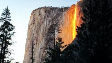 Photo of Yosemite's Firefall Will Take Your Breath Away (Video)