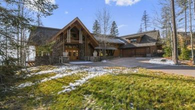 Photo of Dream House: Whitefish, Montana Timberframe (20 Photos)