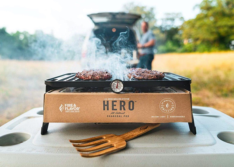 Gear Haul: HERO Portable Charcoal Grill (2)