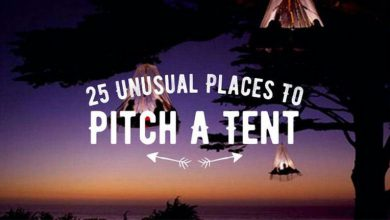Photo of 25 Unusual Places to Pitch a Tent