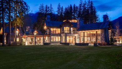 Photo of Dream House: Canadian Mountaintop Mansion (23 Photos)