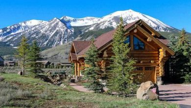 Dream House: Crested Butte Log Cabin (1)