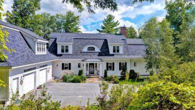 Photo of Dream House: Elegant New Hampshire Lakefront Estate (35 Photos)