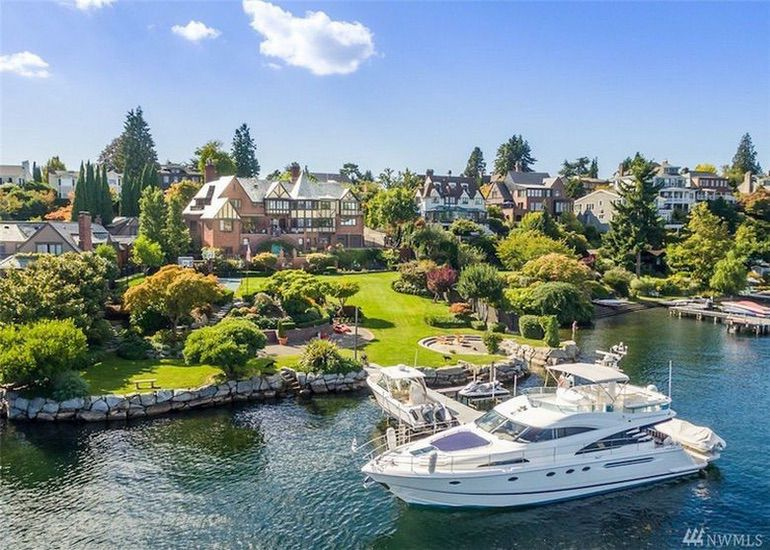 Dream House: Historic Seattle Waterfront (1)