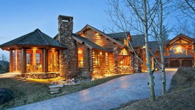 Photo of Dream House: Jackson Hole Log Cabin (28 Photos)