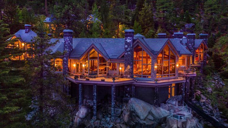 Dream House: Lake Tahoe Rustic Luxury Mansion (1)