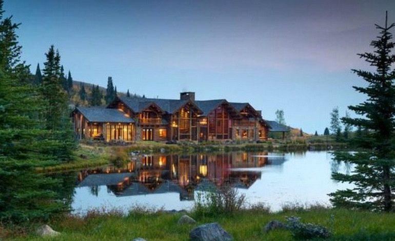 Photo of Dream House: Wyoming Mountain Estate (39 Photos)
