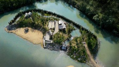 Photo of Rich Guy has a Pirate-Themed Island Built on His Estate (28 Photos)