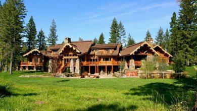 Dream House: Massive Montana Log Cabin (1)