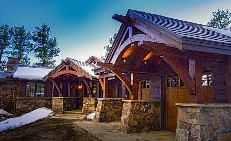 Photo of Dream House: Colorado Bear Gulch Ranch Timberframe (27 Photos)