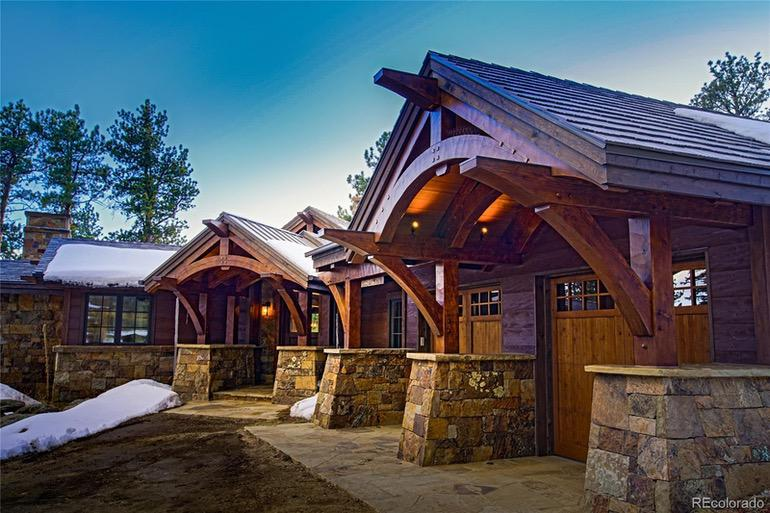 Dream House: Colorado Bear Gulch Ranch Timberframe (1)
