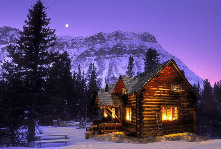 All I Need is a Little Cabin in the Woods (1)