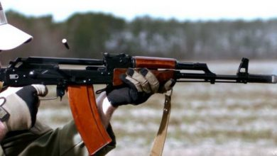 Photo of Slow-Motion Video Of An AK-74 Firing On Full Auto
