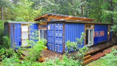 Photo of Artist Creates a Beautiful Shipping Container Home (7 Photos)