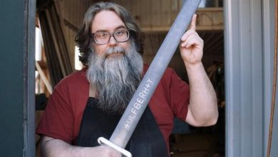 Photo of Blacksmith Reproduces 9th Century Viking 'Valyrian Steel' (Video)