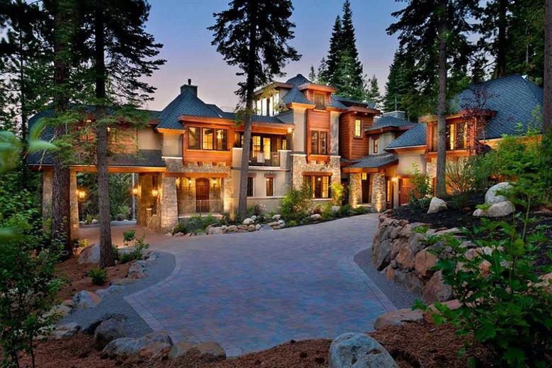Dream House: California Mountain Mansion (1)