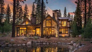Dream House: Lake Tahoe Woodsy Cabin Real Estate For Sale (1)