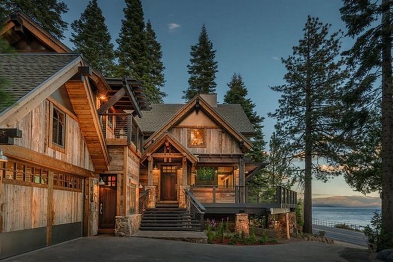 Suburban Men We Do Love Luxury Rustic Houses (1)