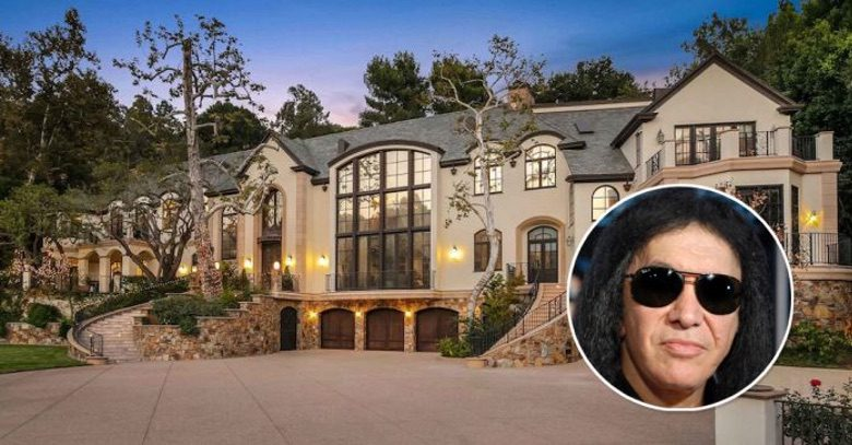Dream House: Gene Simmons Beverly Hills Mansion (1)