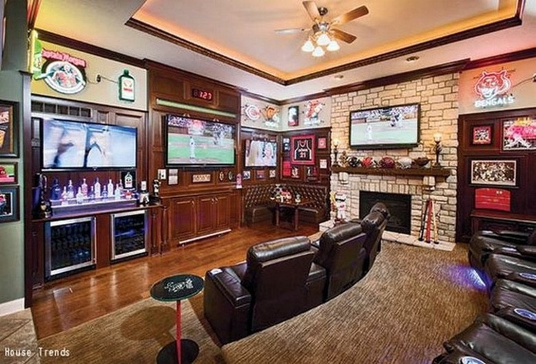 Suburban Men We'll Take Any One of These Awesome Man Caves (1)