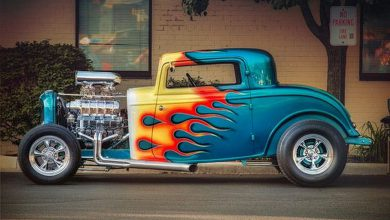Suburban Men Afternoon Drive: Hot Rods and Rat Rods Restomod Restored (1)