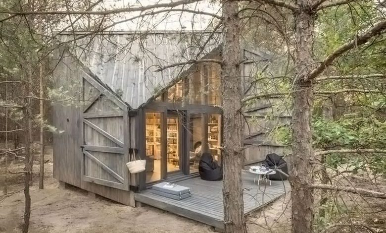 Dream House: Bookwork Cabin