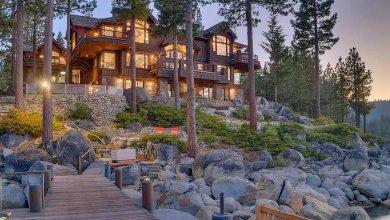 Dream House: Lake Tahoe Waterfront Mansion