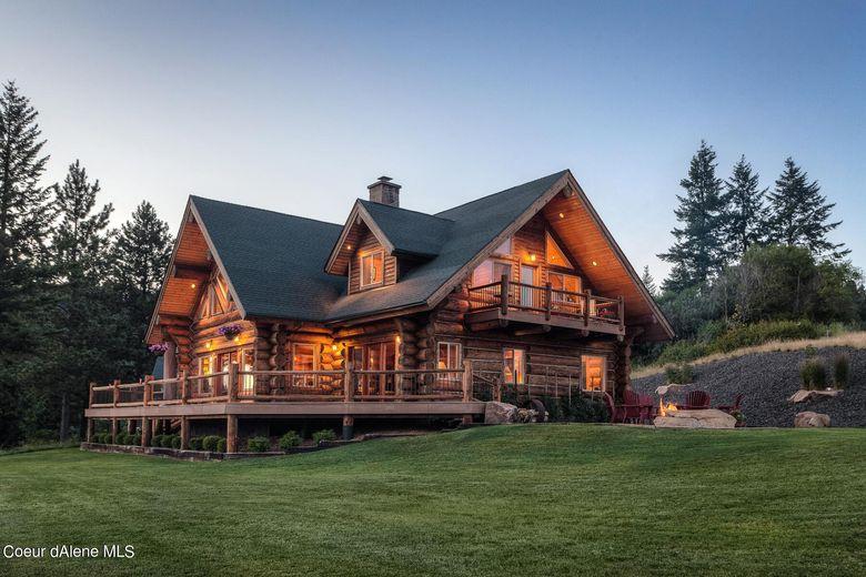 Dream House: Northern Idaho Log Mansion